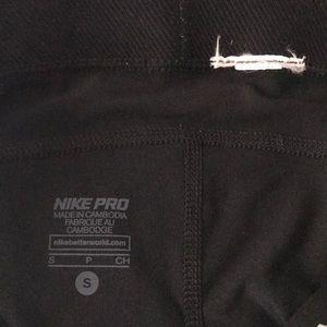 Nike Shorts - LAST CALL***EUC Nike Pro Spandex Shorts